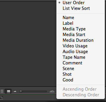 reTooled net – Working Around a Premiere Pro CC Bug to Sort in Icon View