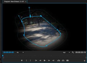 Premiere Pro 2014 IBC Masking Widget